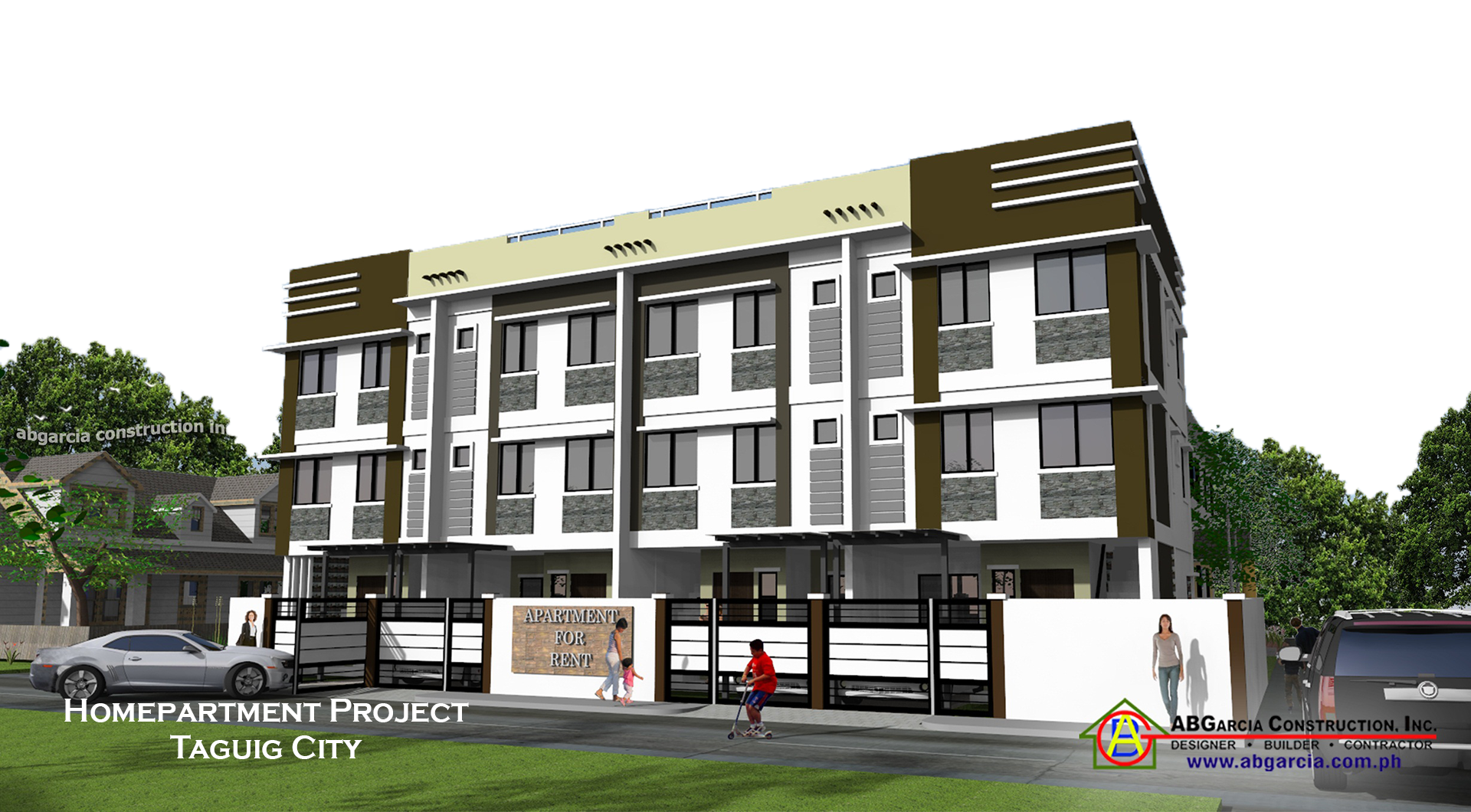 Apartment building designs philippines ofw business ideas for Apartment house design